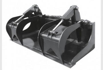 Skid Steer Bucket Grapple