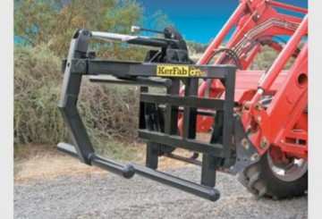 Square Wrapped Bale Clamp