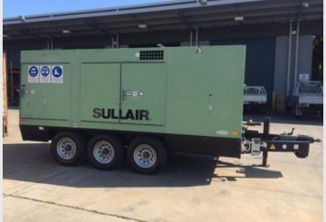Sullair Dual Capacity Portable Compressor-Roma
