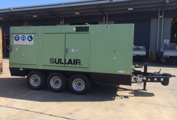 Sullair Dual Capacity Portable Compressor