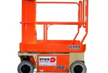 Vertical Man Lift - 3.7m (12ft) Electric Jlg