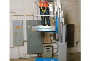 Vertical Man Lift - 6.0m (20ft) Electric Genie