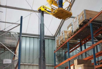 Vertical Man Lift - 8m (26ft) Electric Haulotte