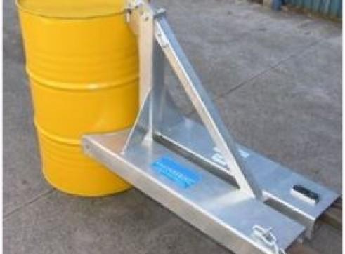 Drum Handling Forklift Attachment