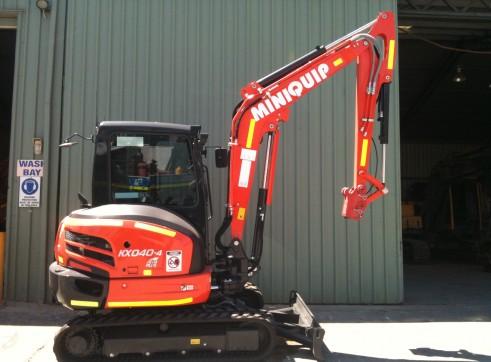 Kubota 4 ton Mini excavator for hire