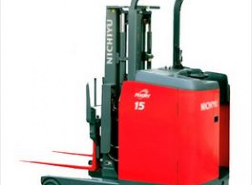 Nichiyu Stand-On Reach Forklifts