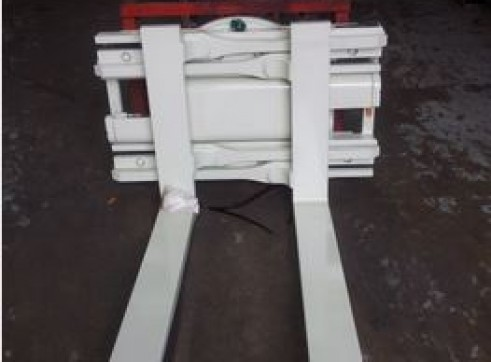 Rotating Fork Clamp Forklift Attachment