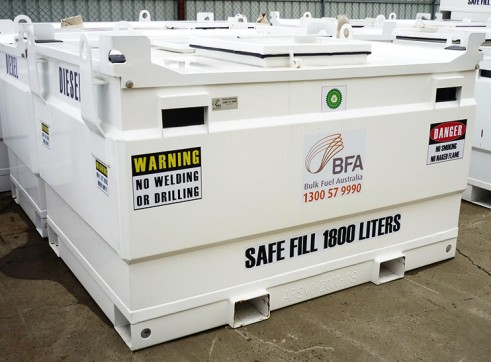 1,800L Self Bunded Fuel Storage Tank 1