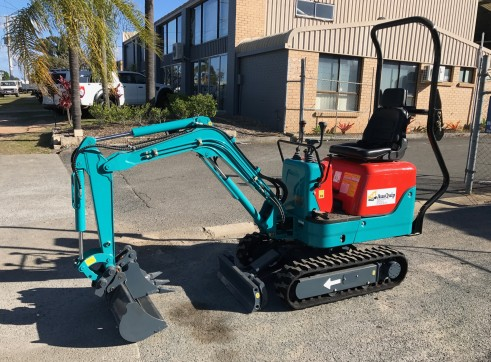 1 Ton Mini Excavator 4
