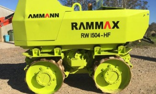 1.4T Remote Trench Roller 1