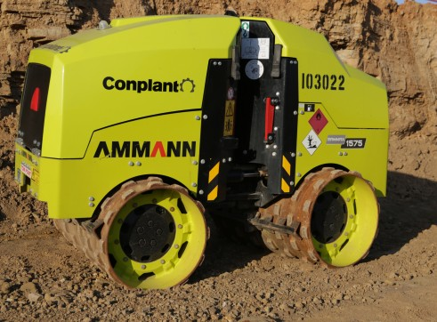 1.5 T Remote Control Trench Roller Ammann 1575 2