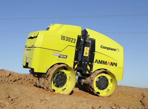 1.5 T Remote Control Trench Roller Ammann 1575 3