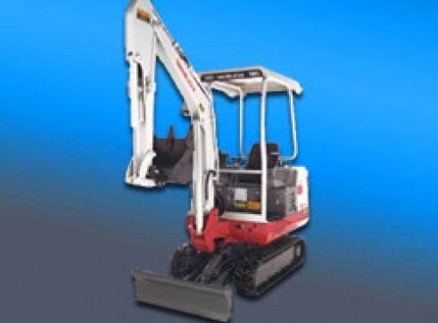 1.6 Ton Takeuchi Excavator 1