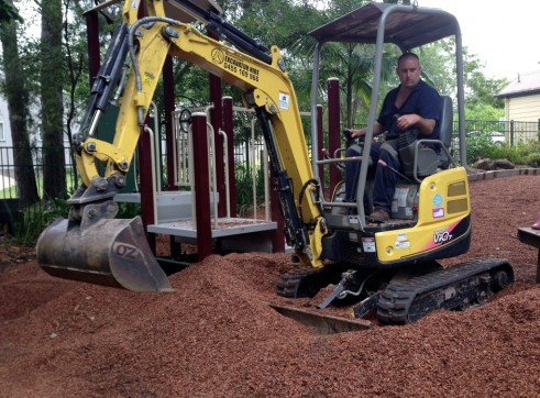 1.7 ton Yanmar Mini Excavator 1