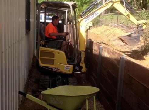 1.7 ton Yanmar Mini Excavator 2