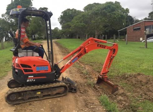 1.7T Excavator