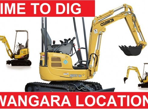 1.8 TON MINI EXCAVATORS WET OR DRY HIRE  1
