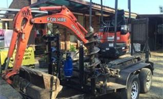 1.8t Zero Swing Excavator  1
