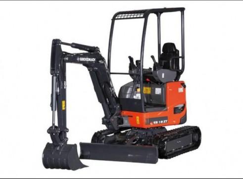 1.9T Eurocomach ES18ZT Mini Excavator 1