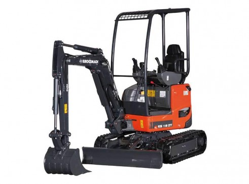 1.8T Eurocomach ES18ZT Mini Excavator 1