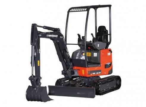 1.8T Eurocomach ES18ZT Mini Excavator