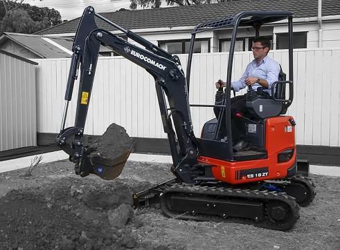 1.8T Eurocomach ES18ZT Mini Excavator 3