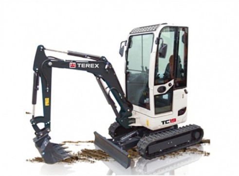 1.9T Terex TC-19 Mini Excavator 1