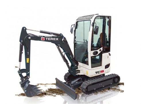 1.9T Terex TC-19 Mini Excavator 1