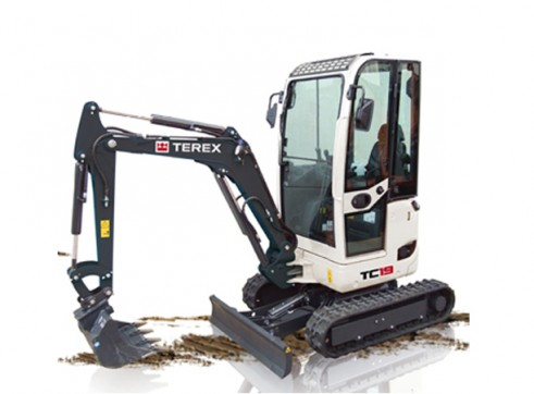 1.9T Terex TC-19 Mini Excavator