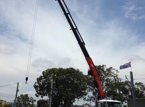 10 Wheeler Crane Truck 3