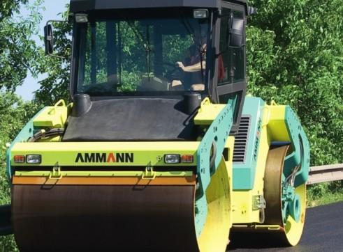 10.4T Ammann AV 110 X Tier 3 Articulated Tandem Roller 2
