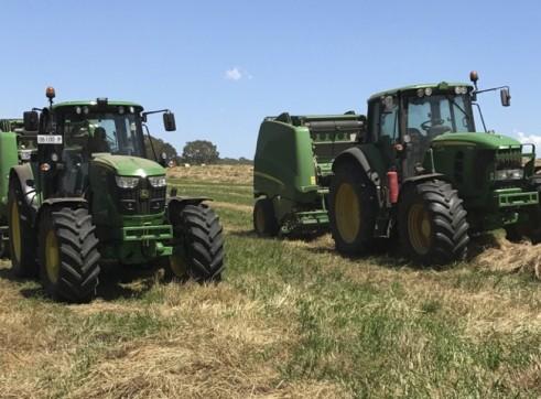 100-300HP 4WD Tractors
