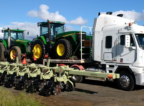 100-300HP Tractors  9