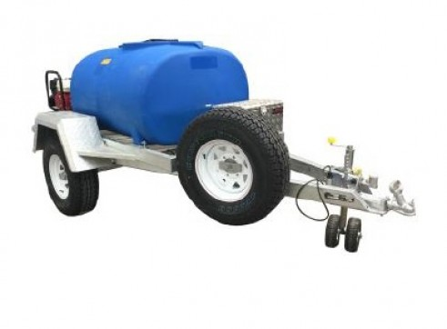 1000L Fire Trailer for hire 1