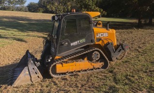 100HP JCB Posi-track w/rippers & forestry mulcher 1