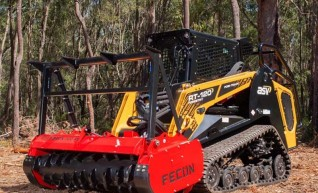 100HP Posi-Track with Forestry Mulcher 1
