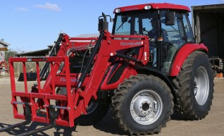 100HP Tractor with Front end Loader 1