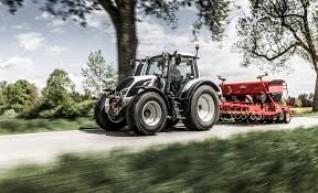 100HP Valtra Tractor w/front end loader & 7FT Slasher 1