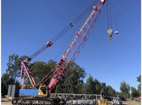100T Sany SCC1000C Crawler Crane 1