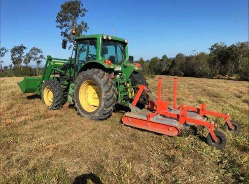 Tractor Slashing - Vegetation Management - Tillage & Seeding - Planting 2