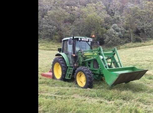 Tractor Slashing - Vegetation Management - Tillage & Seeding - Planting 4