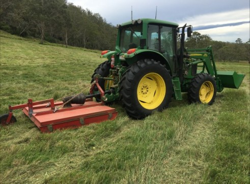Tractor Slashing - Vegetation Management - Tillage & Seeding - Planting 5