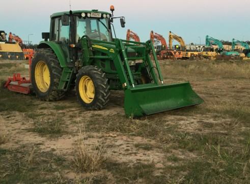 105HP John Deere 6330 Premium Tractor with GPS 11