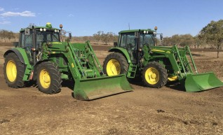 105HP John Deere 6330 Tractor w/GPS 1