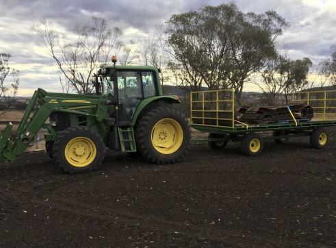 105HP John Deere 6330 Premium Tractor with GPS 3