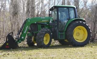 105HP John Deere 6330 Tractor with Cabin & Loader  1