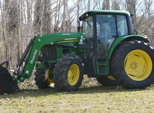 105HP John Deere 6330 Tractor with Cabin & Loader  1