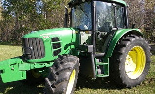 105HP John Deere 6330 Tractor with Cabin Only 1