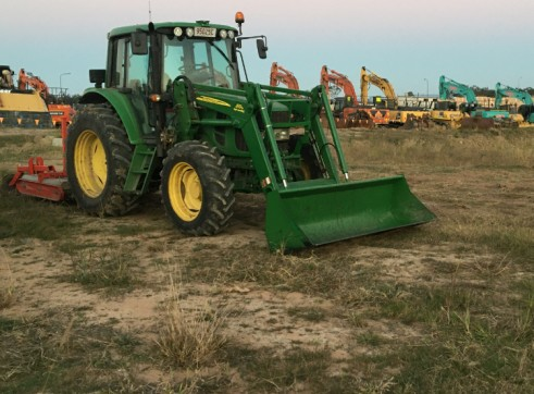 105HP 6330 Premium Tractor with Slasher 12