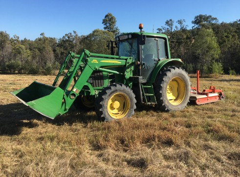 105HP 6330 Premium Tractor with Slasher 14